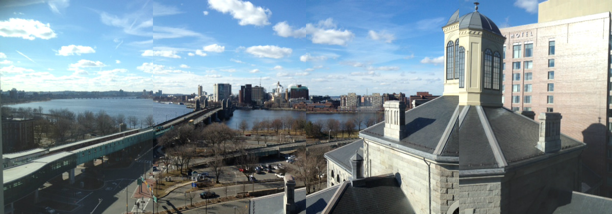 view from mgh infusion room