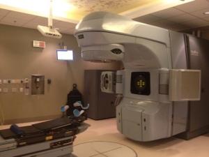 The super high-tech radiation machine.